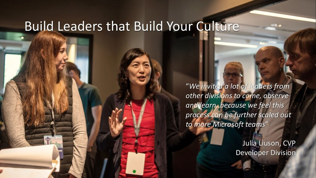 "Build Leaders that Build Your Culture ""We invit..."