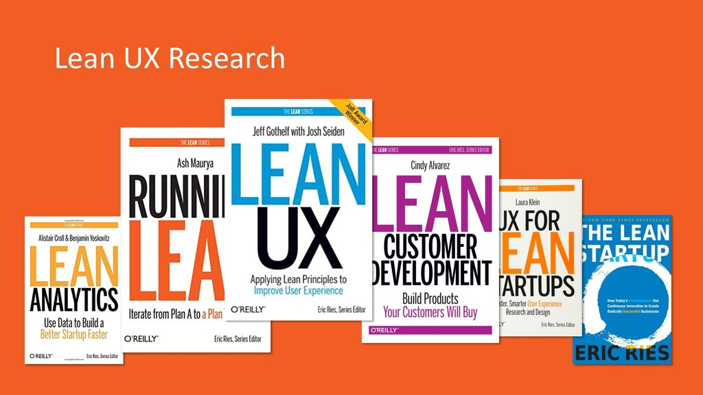 Lean UX Research