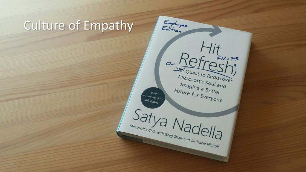 Culture of Empathy
