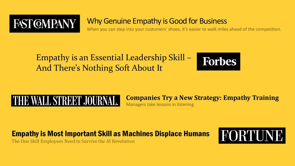 Empathy is Most Important Skill as Machines Dis...