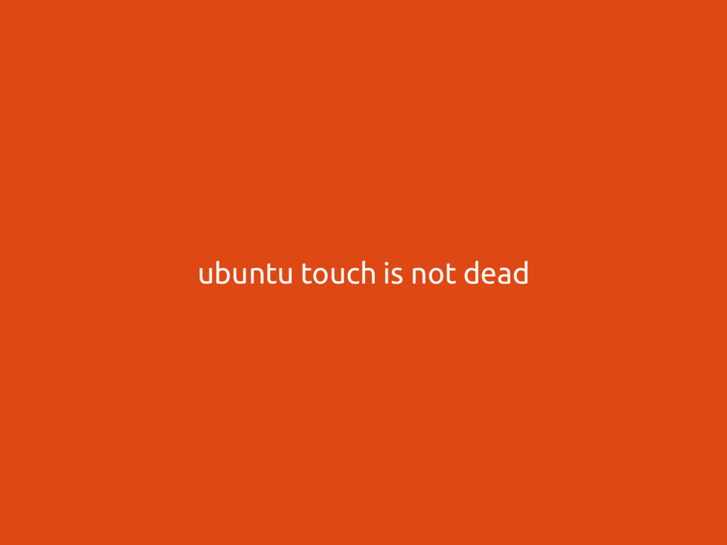  touch UBports Foundation ubuntu touch is not ...