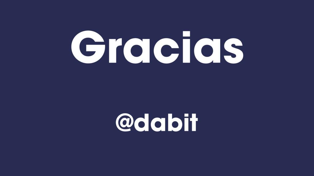 Gracias @dabit