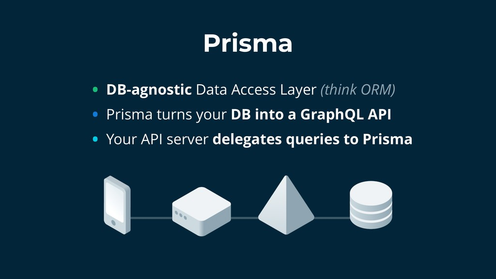 • DB-agnostic Data Access Layer (think ORM) • P...