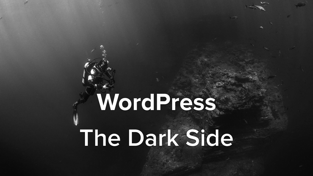 WordPress The Dark Side