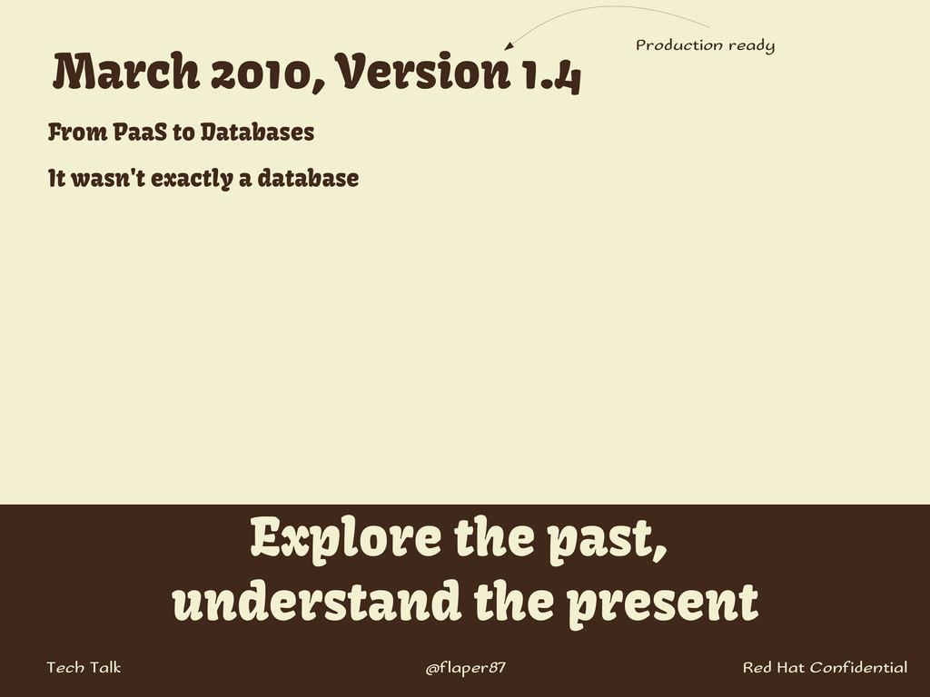 @flaper87 Tech Talk Explore the past, understan...