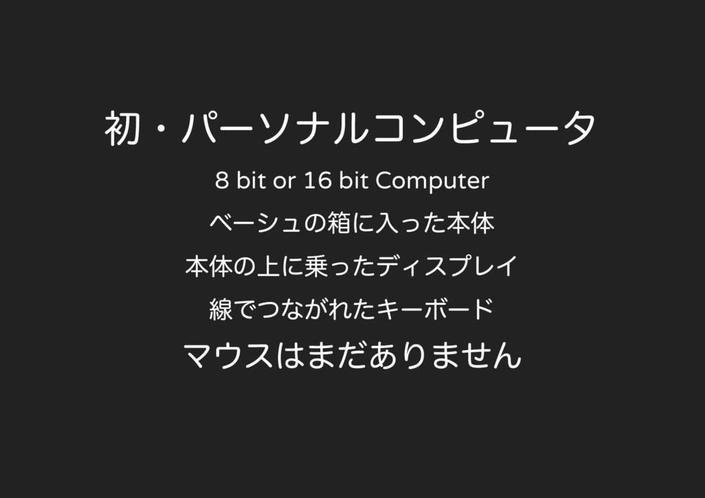 8 bit or 16 bit Computer