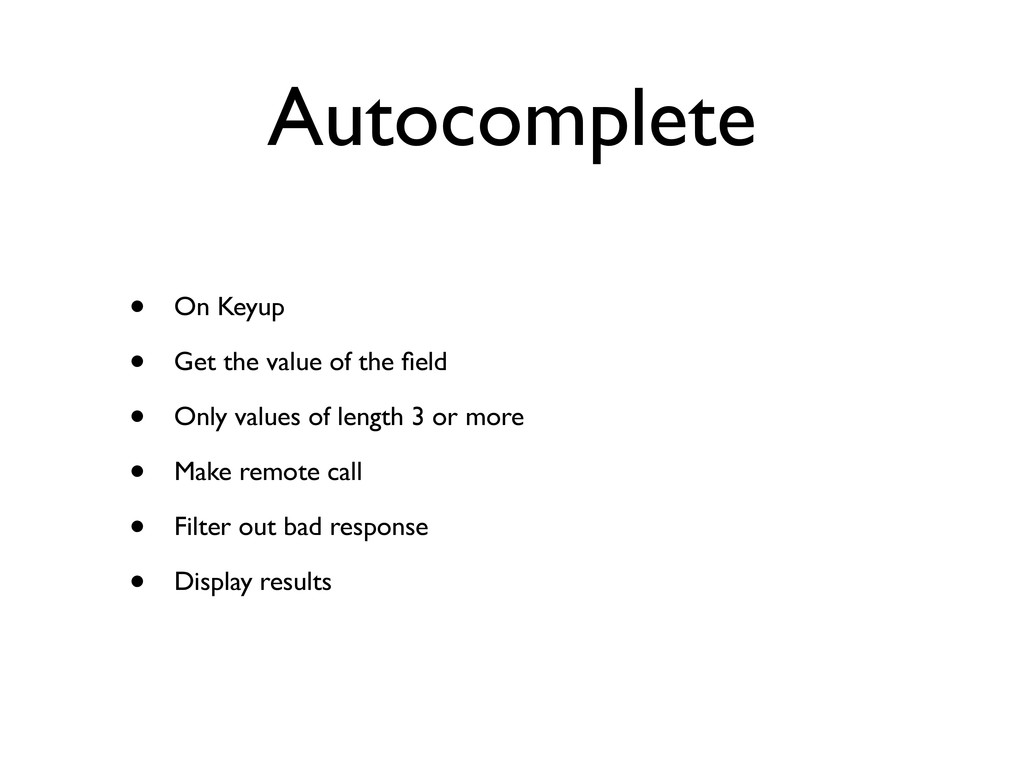 Autocomplete • On Keyup • Get the value of the ...