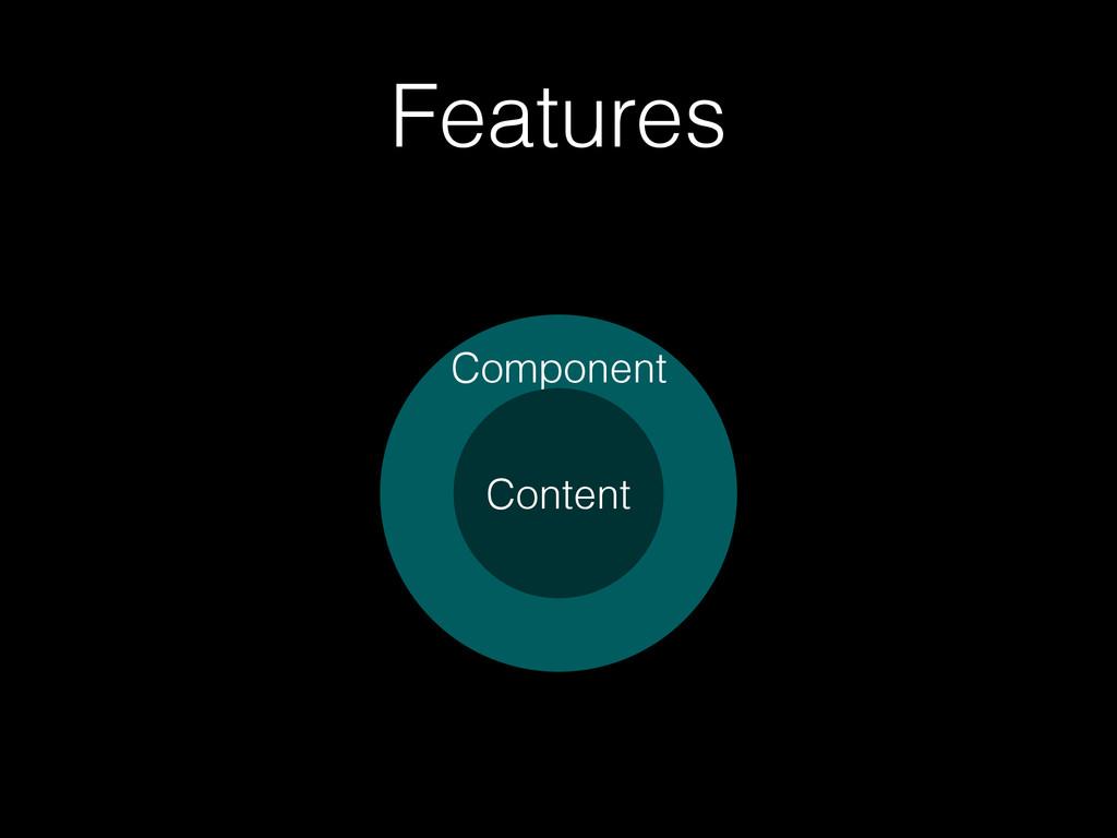 Features Component Content