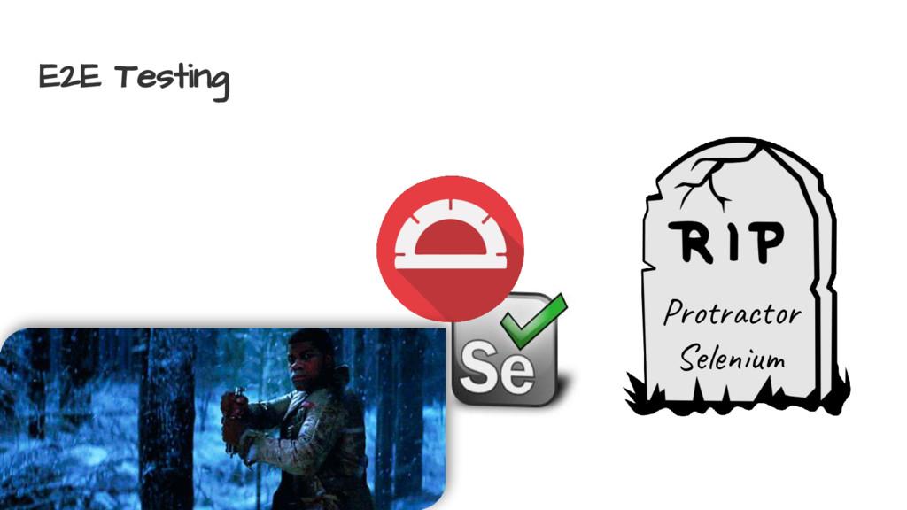 E2E Testing Pro c Sel u