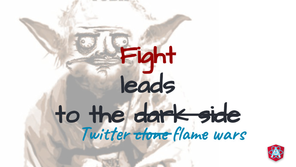Fight leads to the dark side Twi r ne m a s