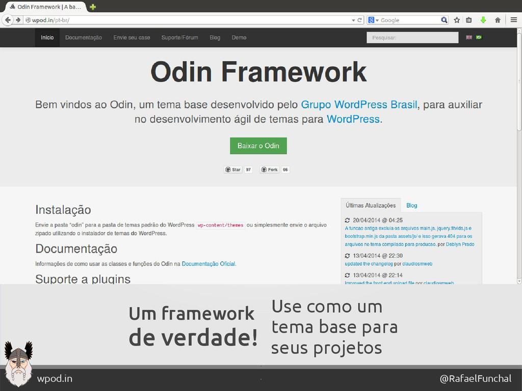 ' @RafaelFunchal wpod.in ' Um framework de verd...