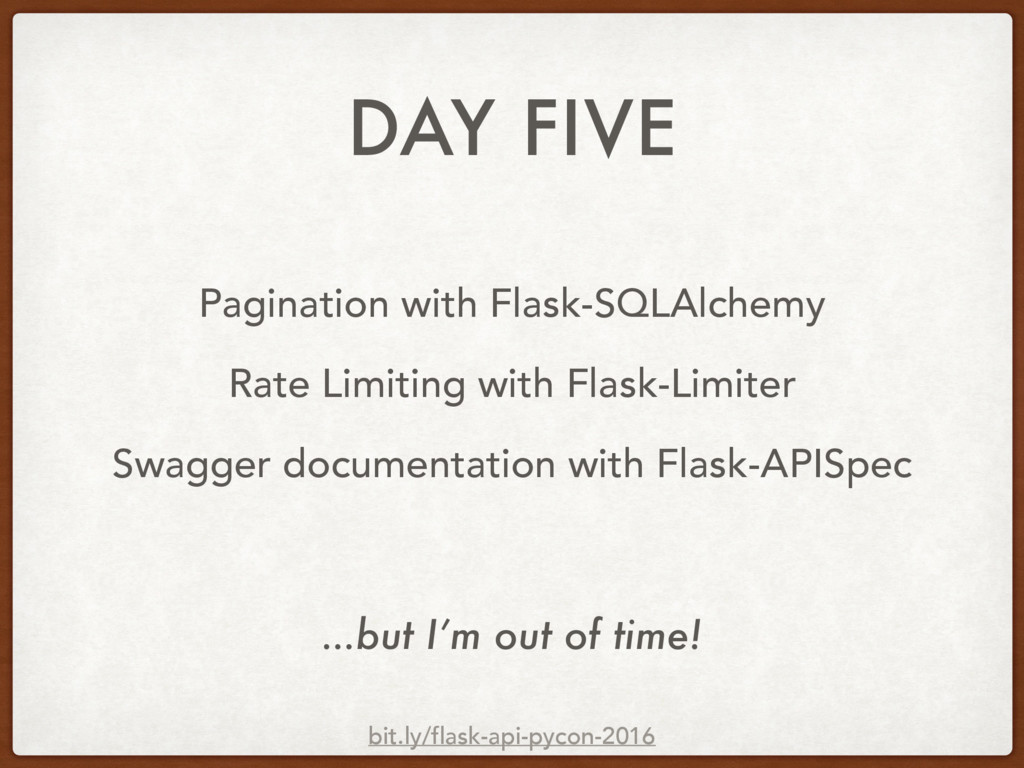 DAY FIVE Pagination with Flask-SQLAlchemy Rate ...
