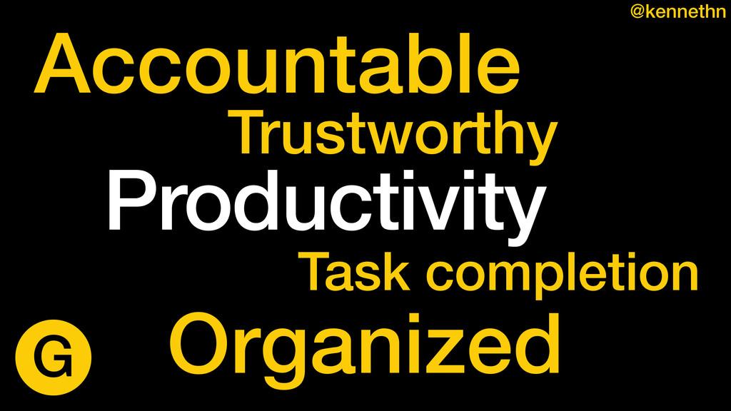 Accountable Organized Trustworthy Task completi...