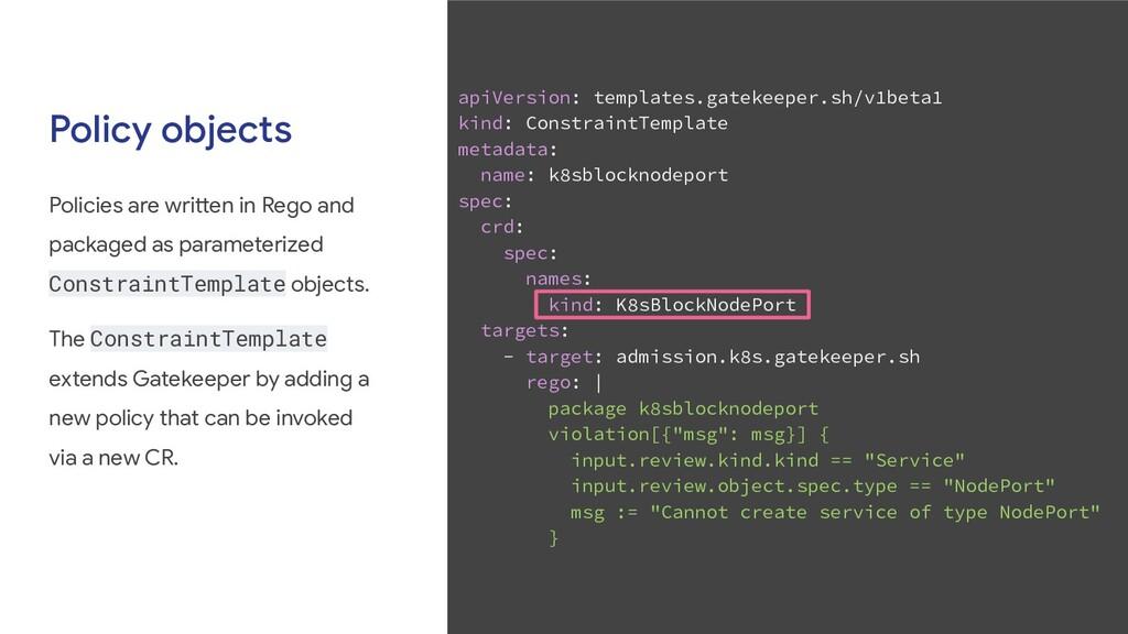 apiVersion: templates.gatekeeper.sh/v1beta1 kin...
