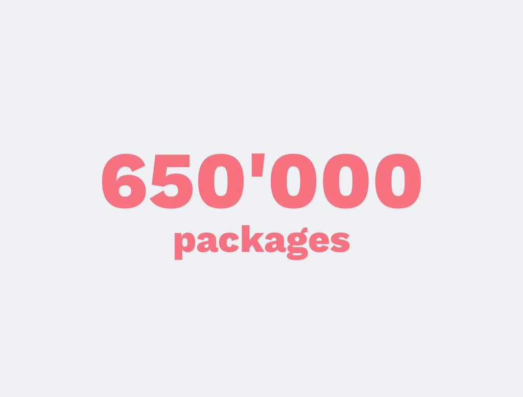650'000 packages