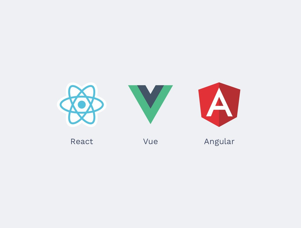 React Vue Angular