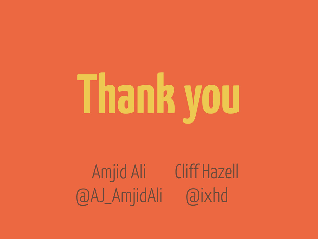 Cliff Hazell @ixhd Thank you Amjid Ali @AJ_Amji...