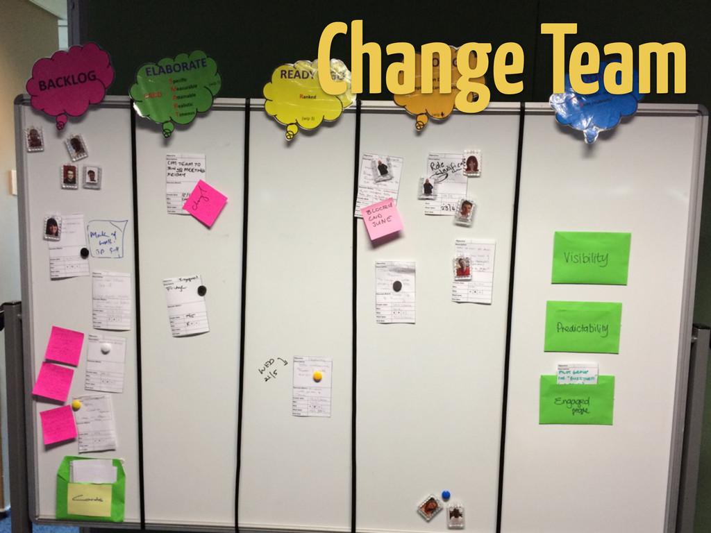 Change Team