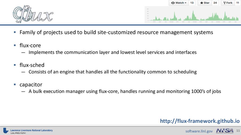 LLNL-PRES-702741 11 software.llnl.gov http://fl...