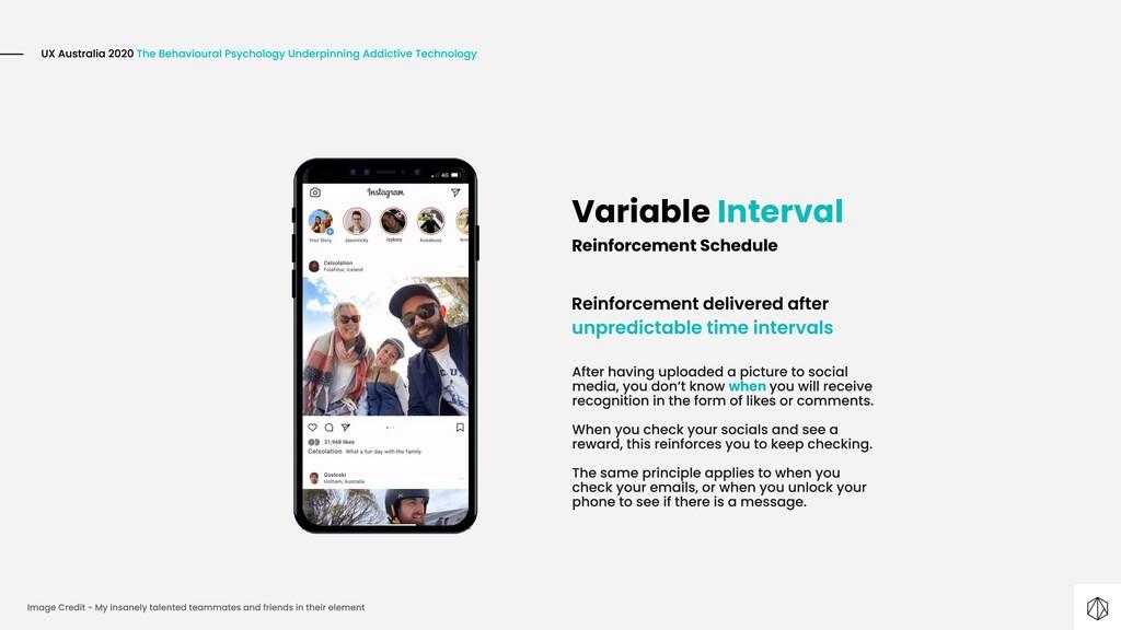 Variable Interval Reinforcement Schedule when