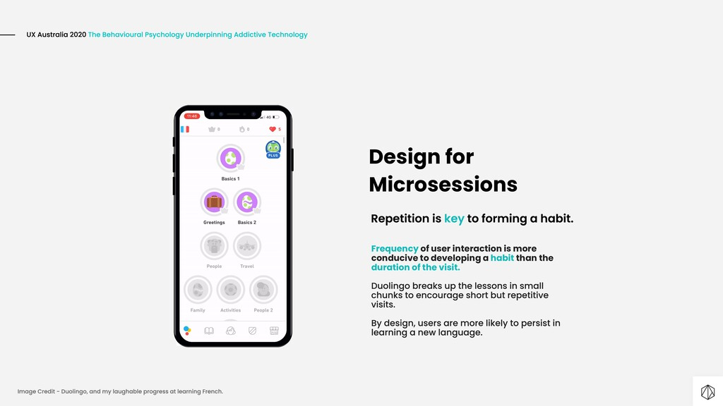 Design for Microsessions Frequency of user inte...