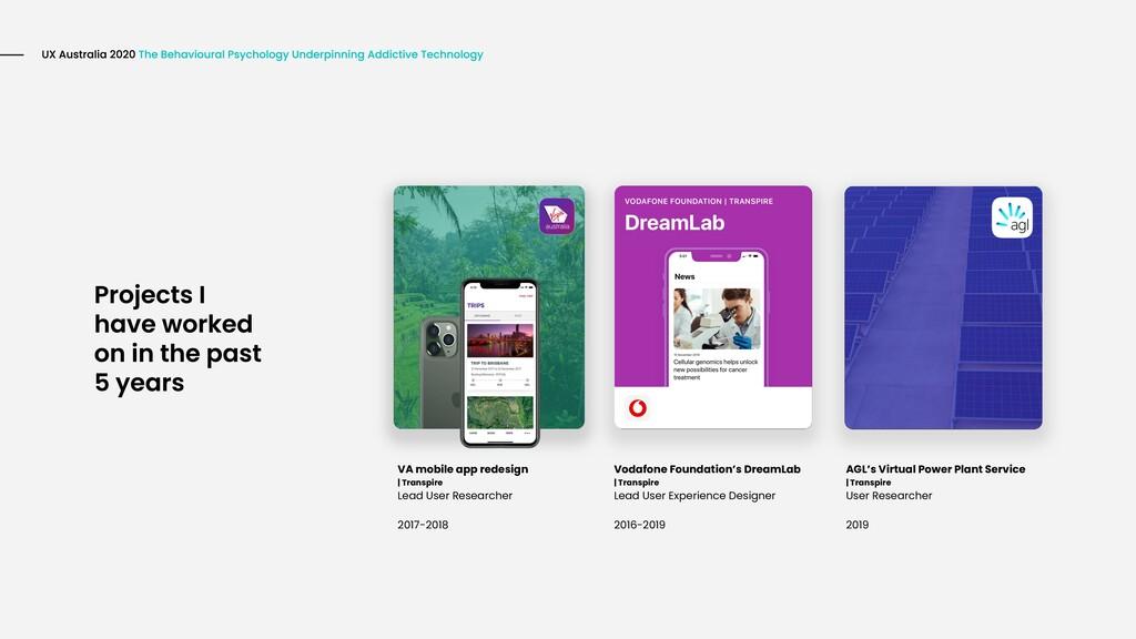 VA mobile app redesign | Transpire Lead User Re...