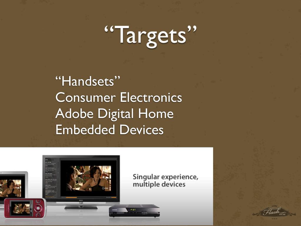"""Handsets"" Consumer Electronics Adobe Digital H..."