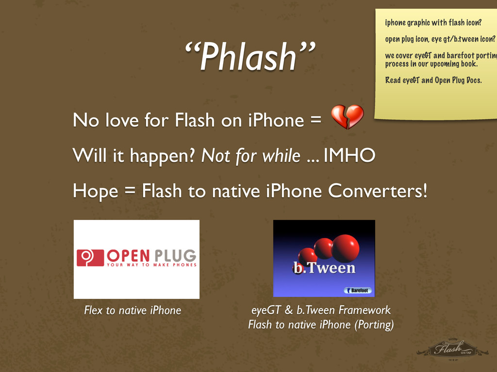 """Phlash"" No love for Flash on iPhone = Will it ..."