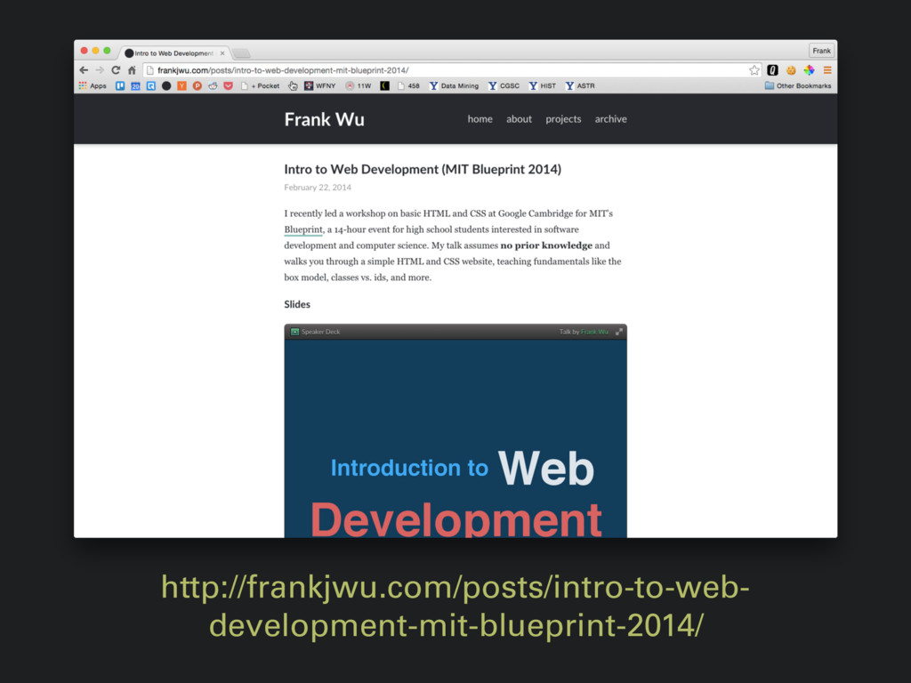 http://frankjwu.com/posts/intro-to-web- develop...