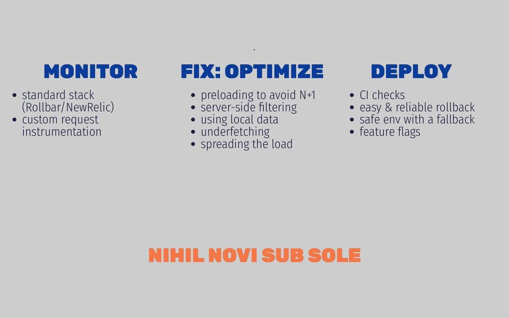 MONITOR MONITOR standard stack (Rollbar/NewReli...
