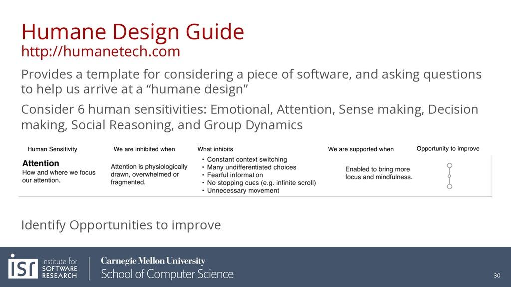 Humane Design Guide http://humanetech.com Provi...