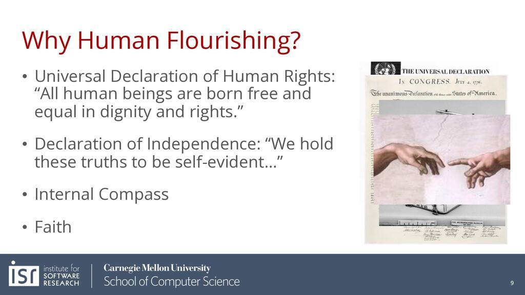 Why Human Flourishing? • Universal Declaration ...
