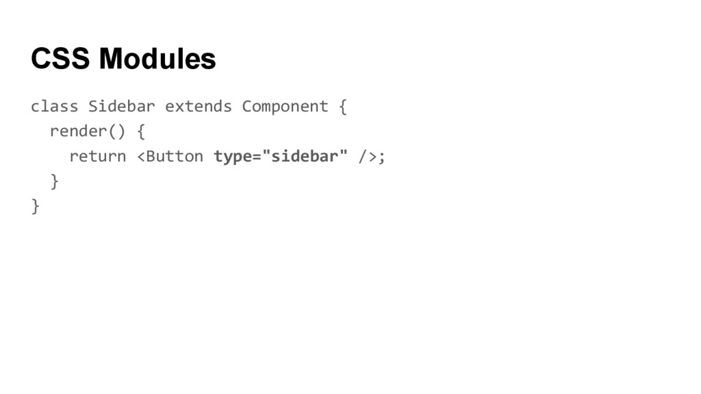 class Sidebar extends Component { render() { re...