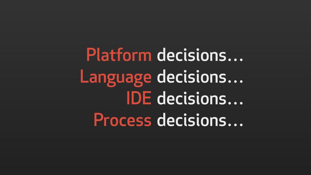 decisions… decisions… decisions… decisions… Pla...
