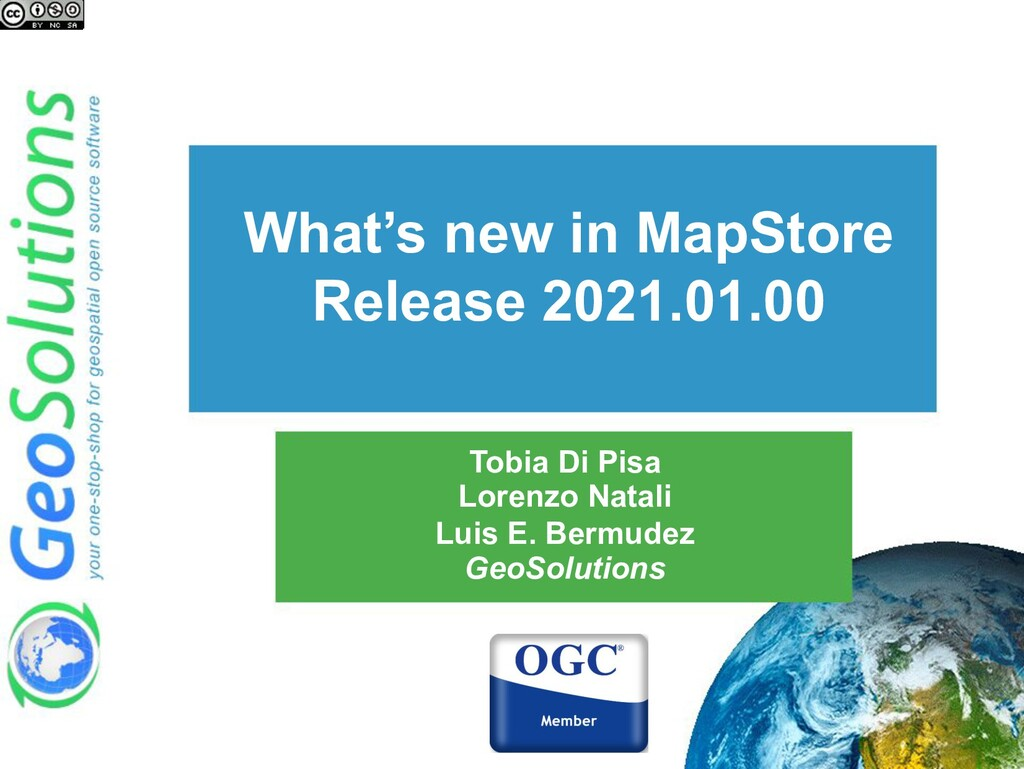 What's new in MapStore Release 2021.01.00 Tobia...