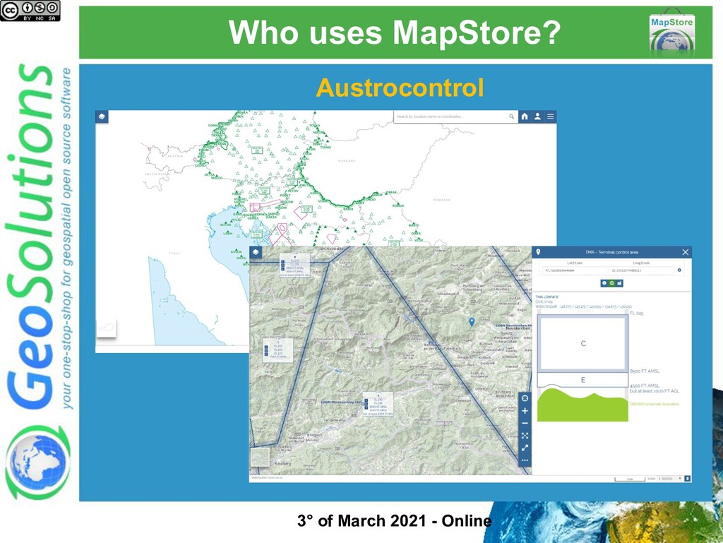 Who uses MapStore? Austrocontrol 3° of March 20...
