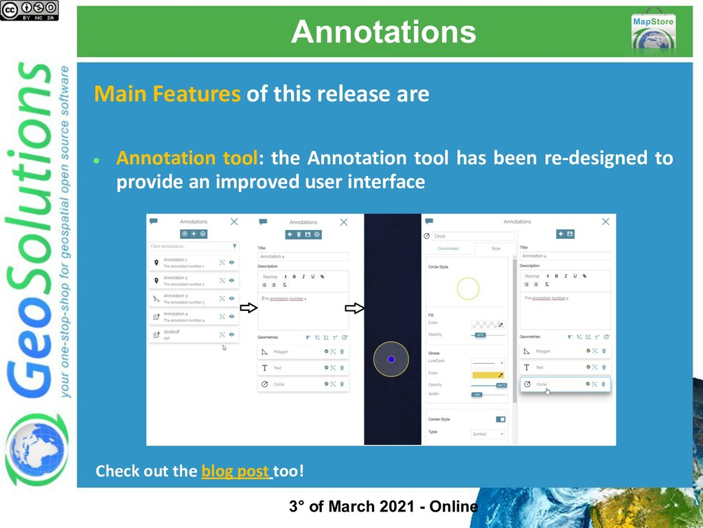 Annotations Main Features of this release are ●...