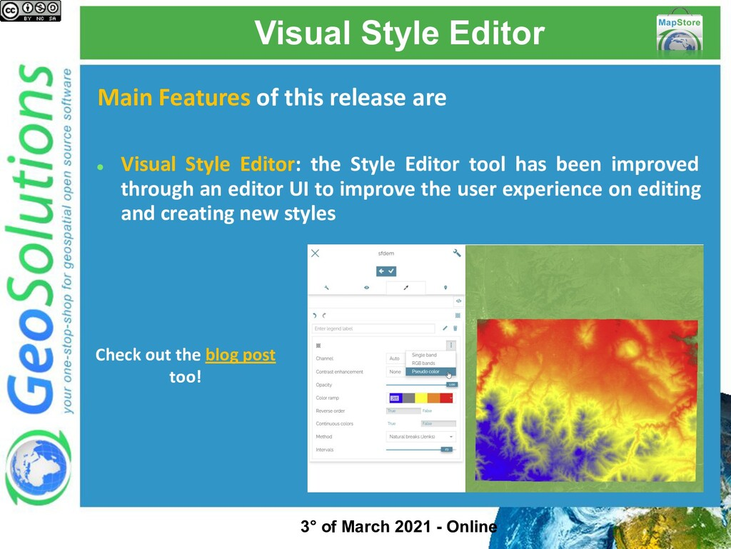 Visual Style Editor Main Features of this relea...
