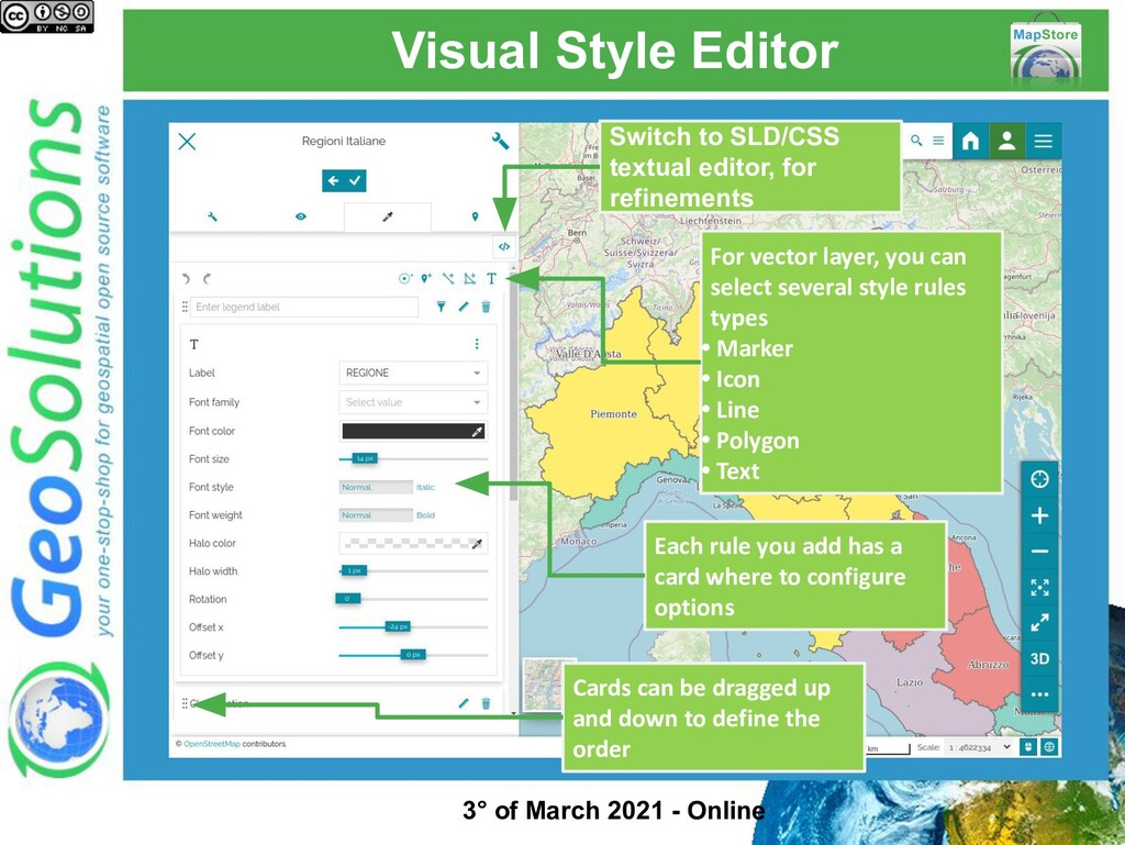 Visual Style Editor Switch to SLD/CSS textual e...