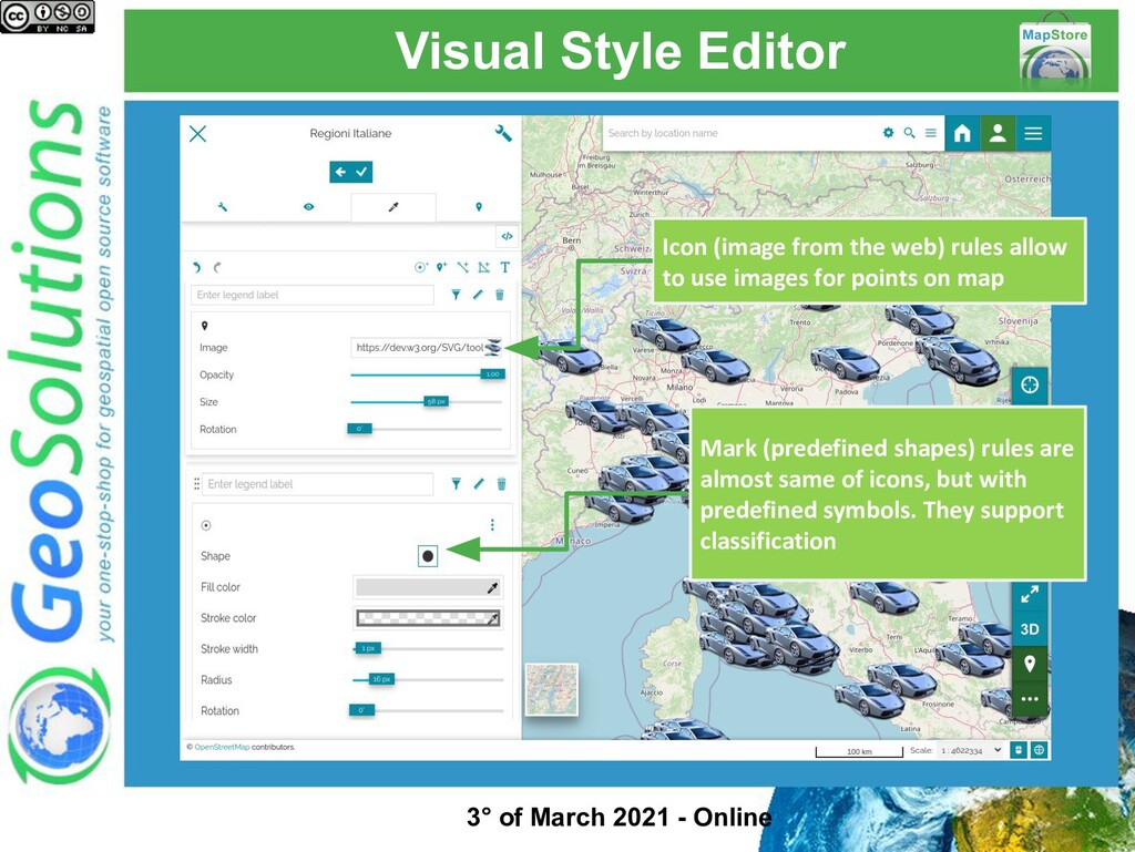 Visual Style Editor Icon (image from the web) r...