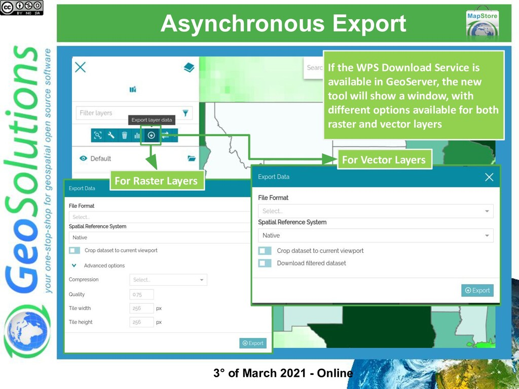 Asynchronous Export If the WPS Download Service...