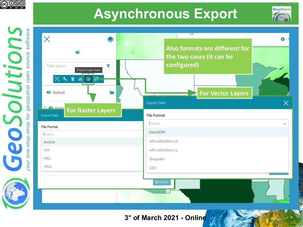 Asynchronous Export For Raster Layers For Vecto...