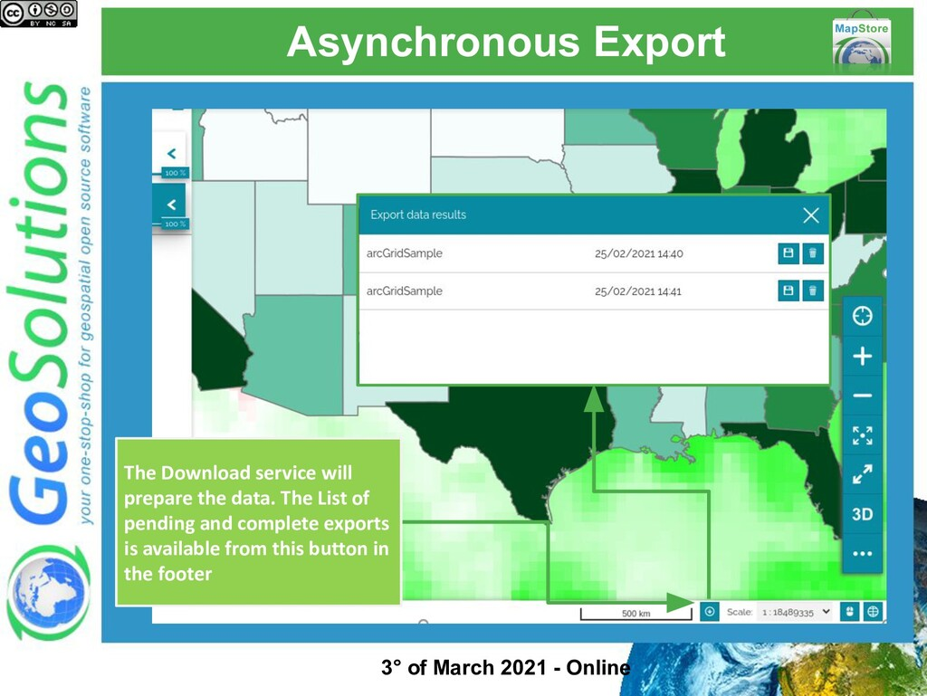 Asynchronous Export The Download service will p...