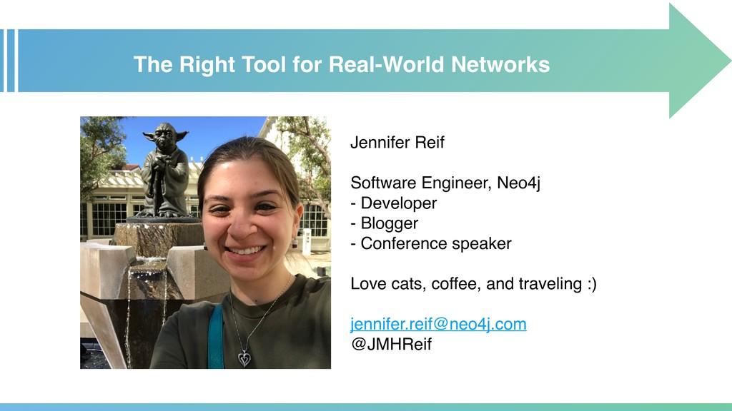 Jennifer Reif Software Engineer, Neo4j - Develo...