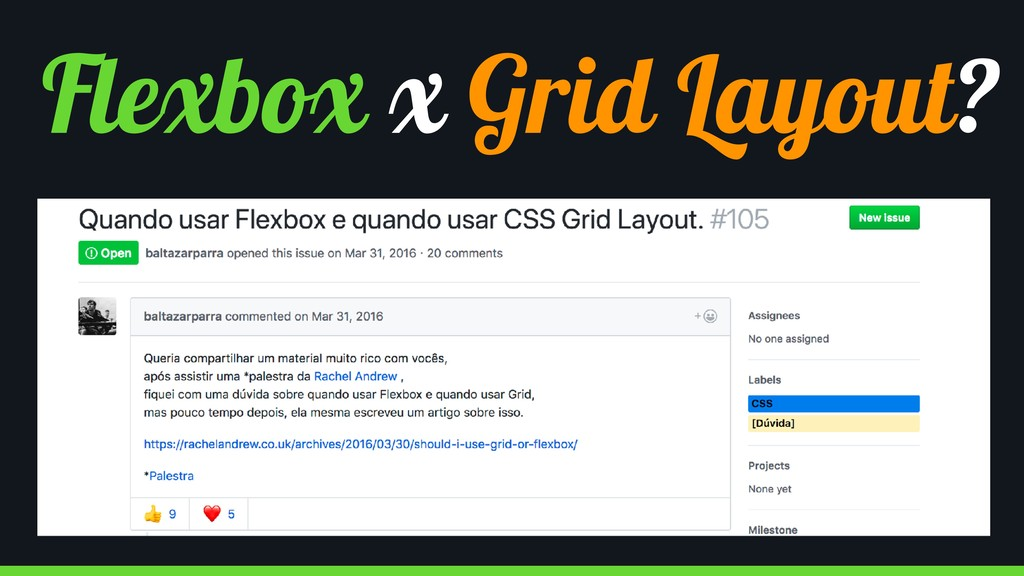Flexbox x Grid Layout?