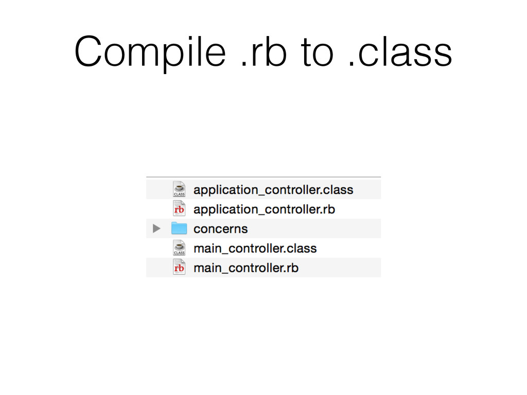 Compile .rb to .class