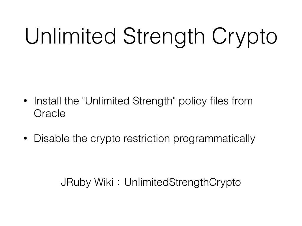 "Unlimited Strength Crypto • Install the ""Unlimi..."