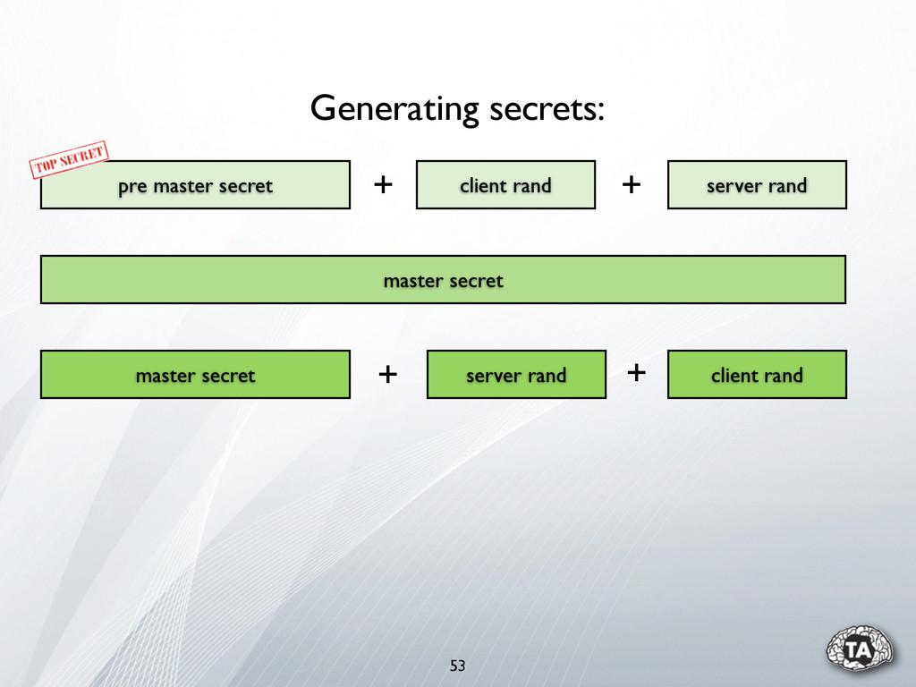 53 pre master secret server rand client rand ma...