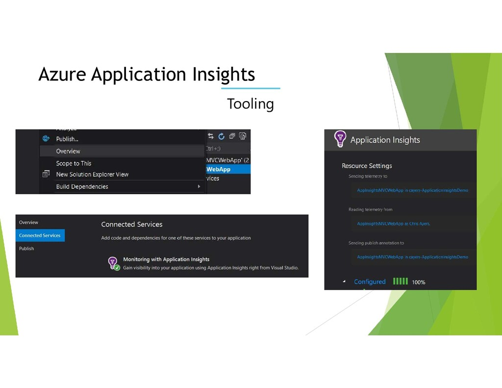Tooling Azure Application Insights