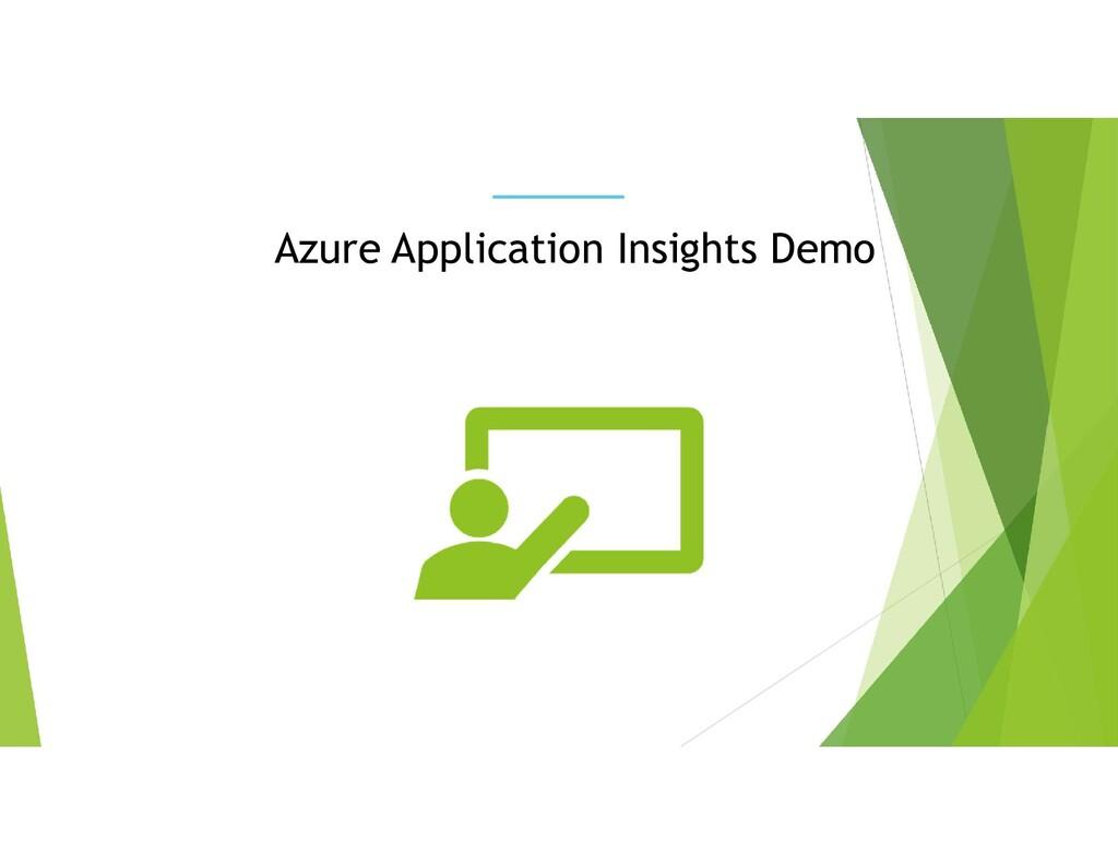 Azure Application Insights Demo